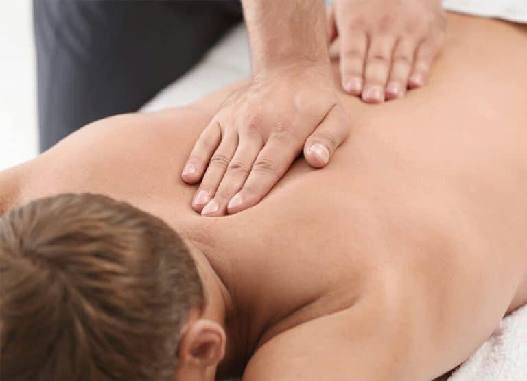 Rygmassage massagepeter